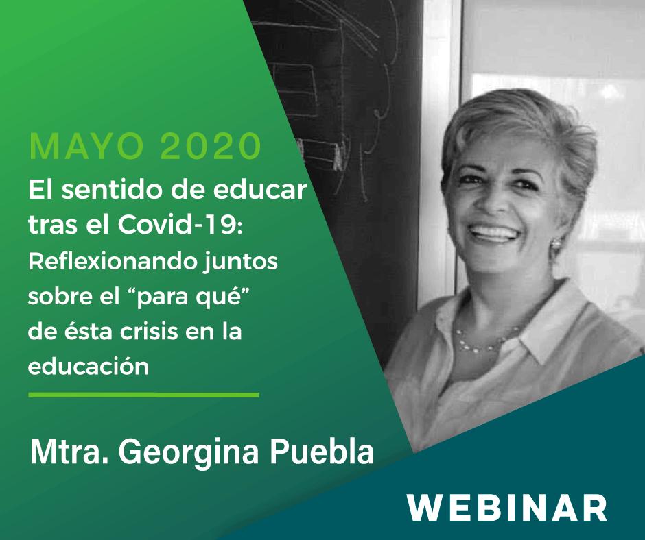 """El sentido de educar tras el Covid-19: Reflexionando juntos sobre el """"para qué"""" de esta crisis en la educación"""