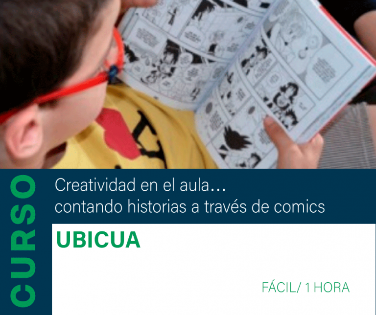 Curso: Creatividad en el aula…contando historias a través de comics