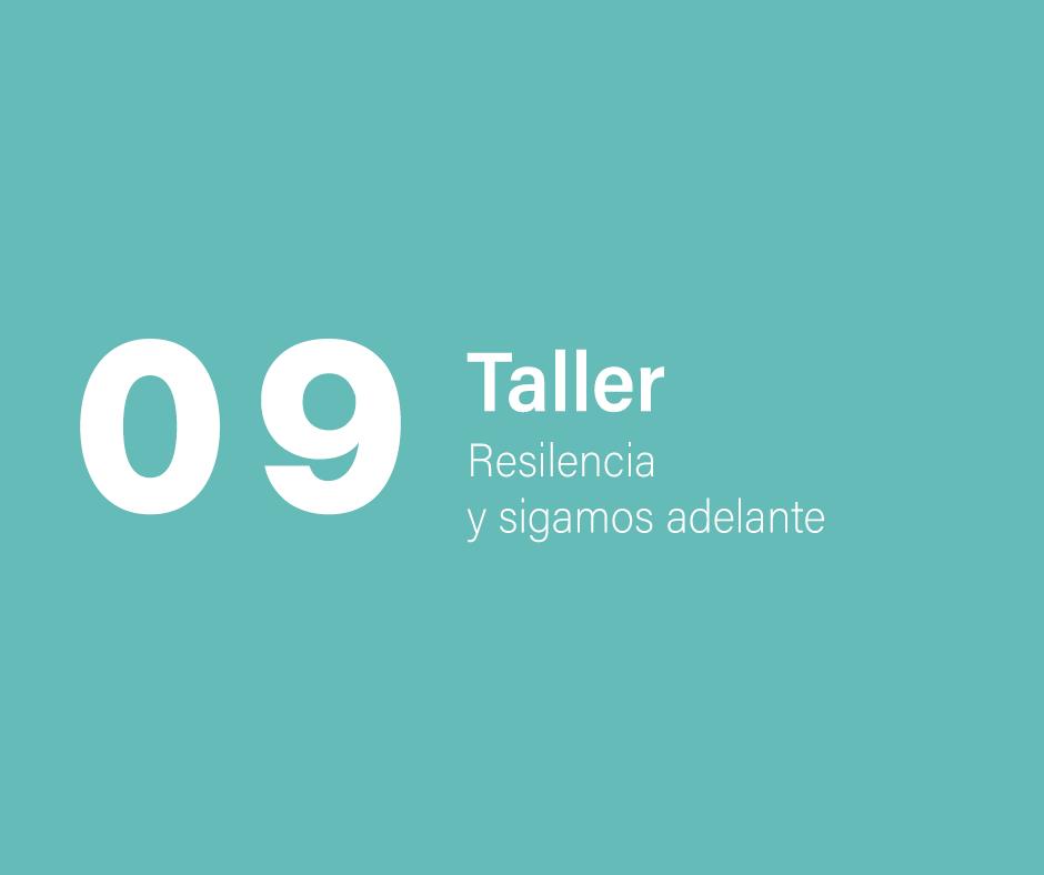 Taller 9: Resiliencia, vamos adelante