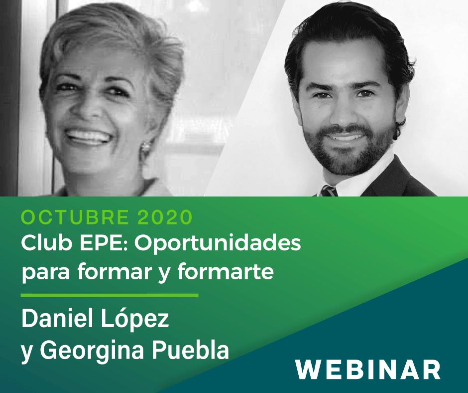 Club EPE: Oportunidades para formar y formarte