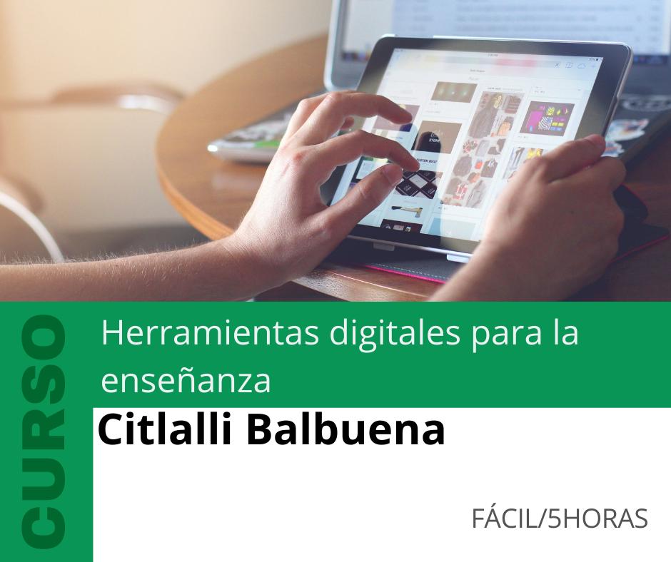 Curso: Herramientas digitales para la enseñanza
