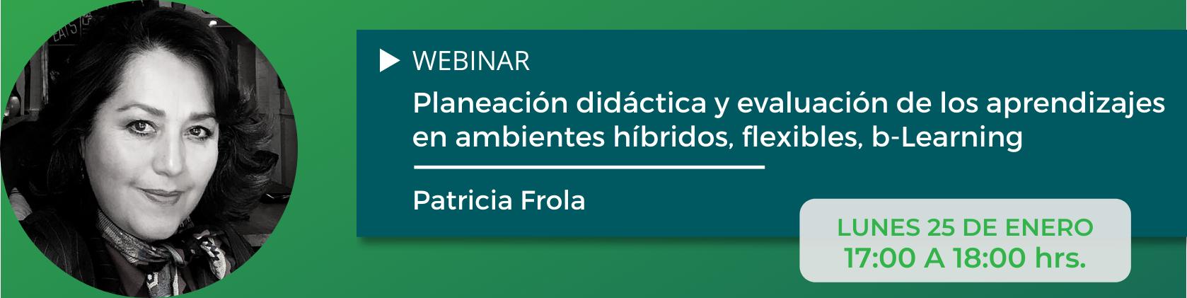 Webinar - Patricia Frola